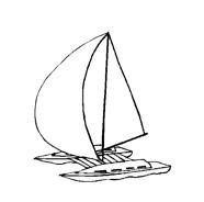 Nave e barca da colorare 107
