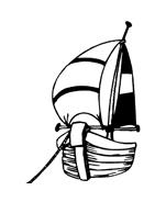 Nave e barca da colorare 117