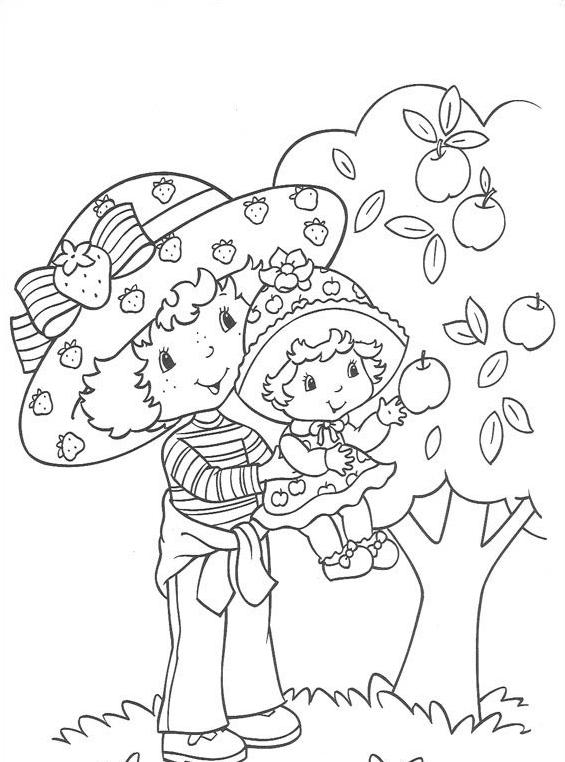 Nina fragolina da colorare 16