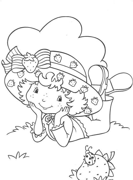 Nina fragolina da colorare 28