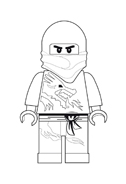 Ninjago da colorare 4