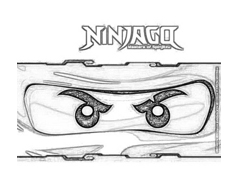 Ninjago da colorare 15