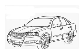 Automobile da colorare 348