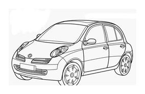 Automobile da colorare 349