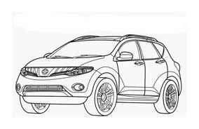 Automobile da colorare 350