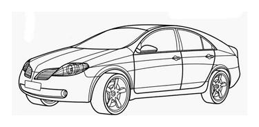 Automobile da colorare 353