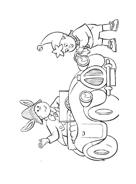 Noddy a Giocattolandia da colorare 119