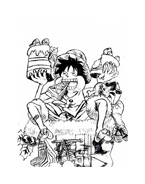 One piece da colorare 39