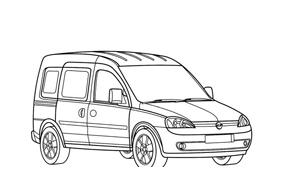 Automobile da colorare 358