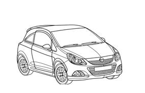 Automobile da colorare 359