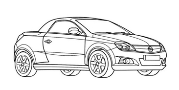 Automobile da colorare 362
