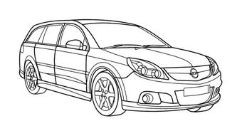 Automobile da colorare 363
