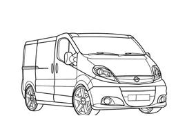 Automobile da colorare 364