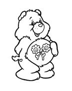Gli orsetti del cuore da colorare 115