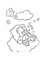 Gli orsetti del cuore da colorare 116