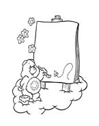 Gli orsetti del cuore da colorare 117