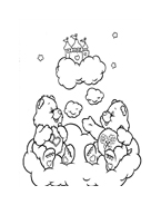 Gli orsetti del cuore da colorare 119