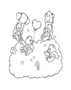 Gli orsetti del cuore da colorare 123