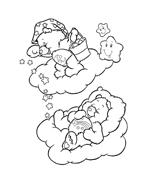 Gli orsetti del cuore da colorare 124