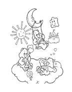 Gli orsetti del cuore da colorare 128