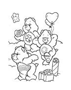 Gli orsetti del cuore da colorare 130