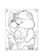 Gli orsetti del cuore da colorare 135