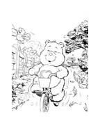 Gli orsetti del cuore da colorare 136