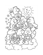 Gli orsetti del cuore da colorare 139