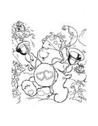 Gli orsetti del cuore da colorare 141