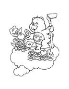 Gli orsetti del cuore da colorare 144