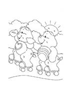 Gli orsetti del cuore da colorare 146