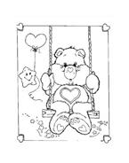 Gli orsetti del cuore da colorare 149