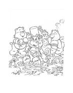 Gli orsetti del cuore da colorare 150