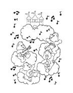 Gli orsetti del cuore da colorare 151