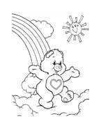 Gli orsetti del cuore da colorare 156