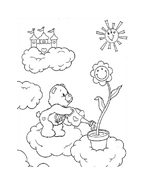 Gli orsetti del cuore da colorare 159