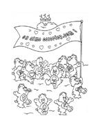 Gli orsetti del cuore da colorare 161