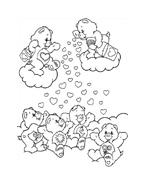 Gli orsetti del cuore da colorare 168