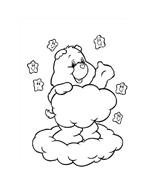 Gli orsetti del cuore da colorare 169