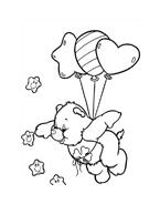 Gli orsetti del cuore da colorare 171