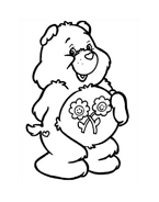 Gli orsetti del cuore da colorare 172