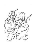 Gli orsetti del cuore da colorare 178