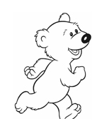 Orso bear da colorare 3