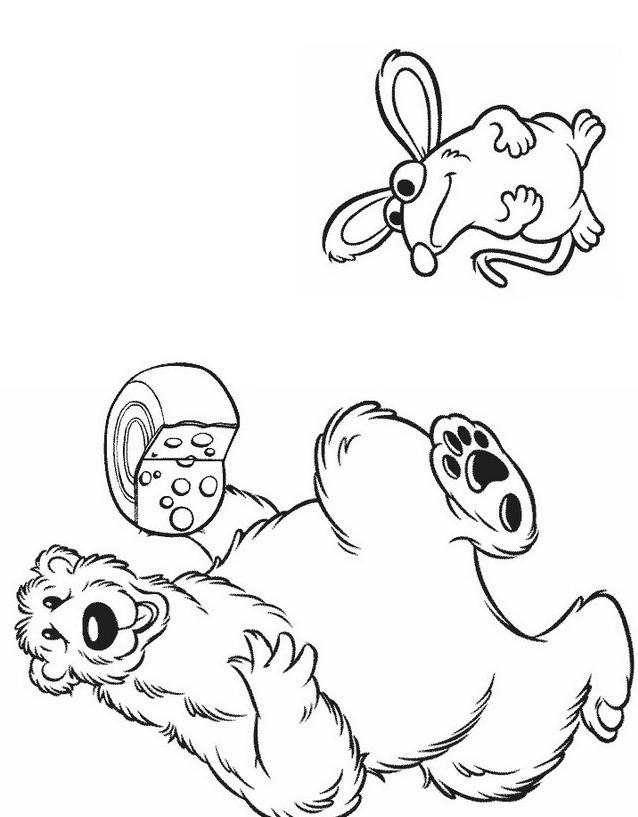 Orsobear da colorare 7