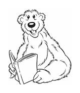 Orso bear da colorare 8