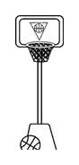 Basketball da colorare 5