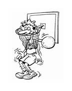 Basketball da colorare 7