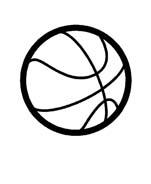Basketball da colorare 8