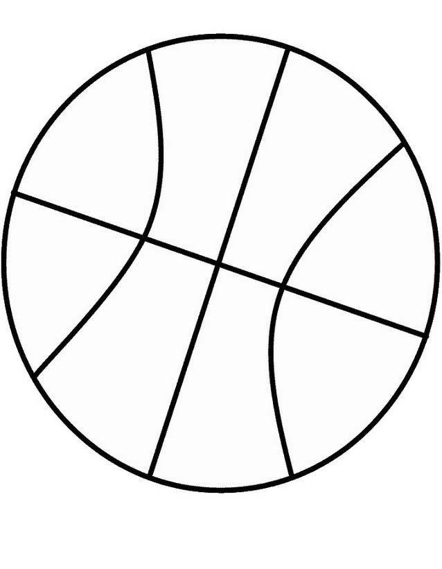 Basketball da colorare 9