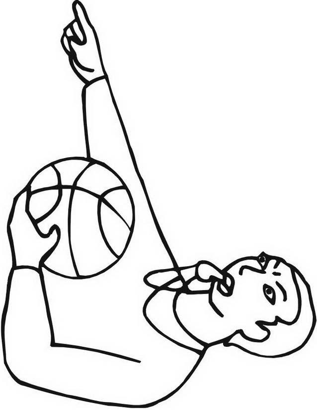 Basketball da colorare 11